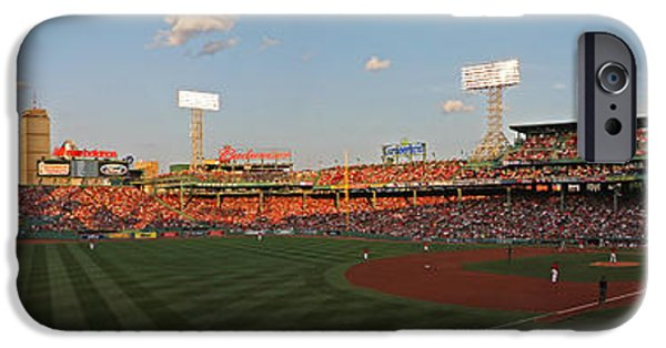 Fenway Park iPhone Cases - Red Sox Yankees Rivalry iPhone Case by Juergen Roth