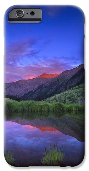 Noah iPhone Cases - Redcloud Mountain iPhone Case by Noah Bryant