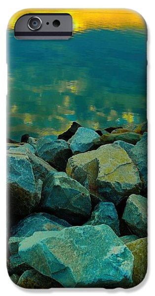 Thinking iPhone Cases - Reflect  Refresh  Renew iPhone Case by Jennifer Fliegel