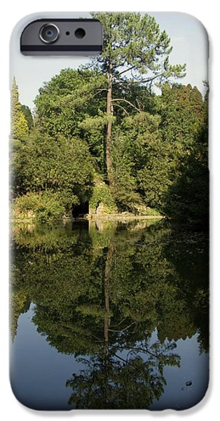 Snake iPhone Cases - Reflecting on a Garden iPhone Case by Alan Pickersgill