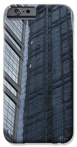 Sears Tower iPhone Cases - Reflection iPhone Case by David Bearden
