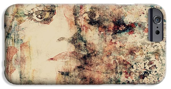 Lips iPhone Cases - Reflections  iPhone Case by Paul Lovering