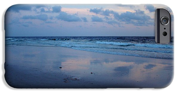 Panama City Beach Photographs iPhone Cases - Reflections iPhone Case by Sandy Keeton