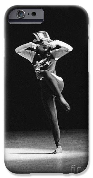 Regine Chopinot dance solo iPhone Case by Philippe Taka
