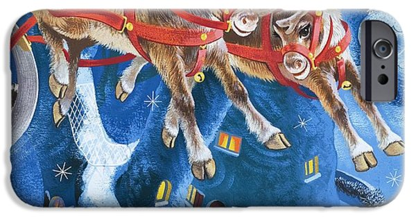 Reining iPhone Cases - Reindeer iPhone Case by English School