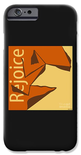 Jubilee Digital iPhone Cases - Rejoice iPhone Case by Phil Perkins