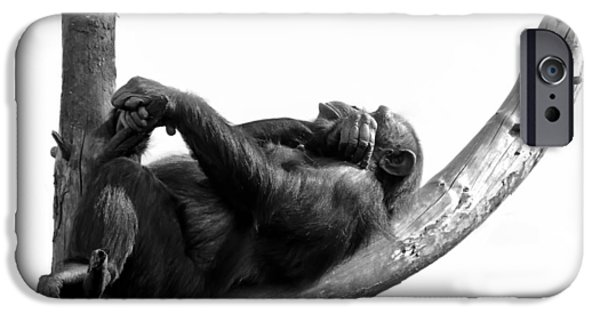 Ape iPhone Cases - Relax iPhone Case by Gert Lavsen