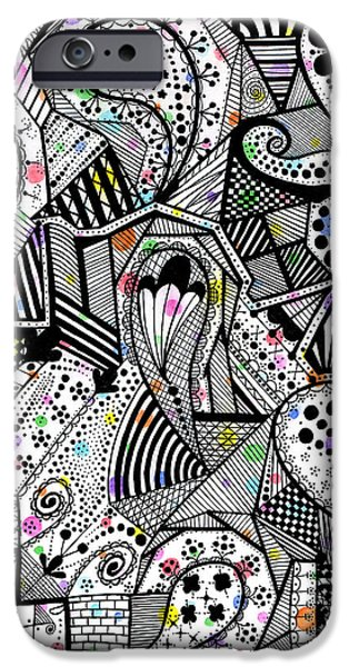 Released but Still Trapped iPhone Case by Laree Alexander