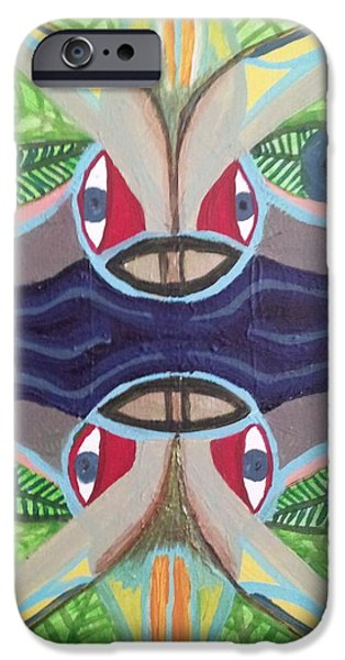 Virtual iPhone Cases - Relection iPhone Case by William Douglas