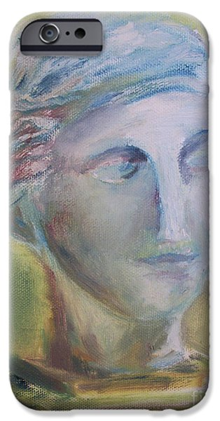 Bust Sculptures iPhone Cases - Remains of the Past iPhone Case by Paul Galante