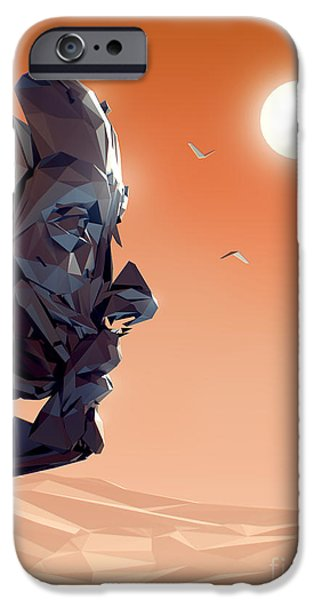 Strange iPhone Cases - Remember Me Sunset iPhone Case by Pixel Chimp