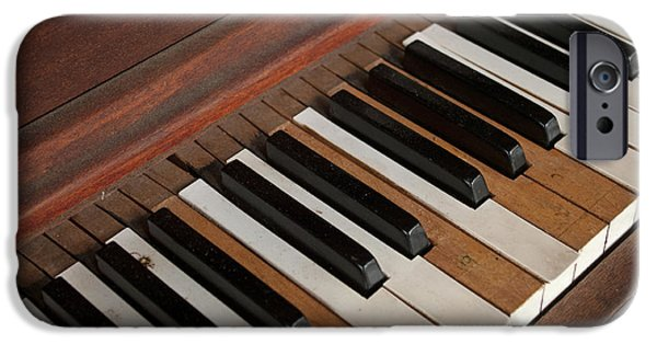 Piano iPhone Cases - Remembering the Music iPhone Case by Elva Robinson
