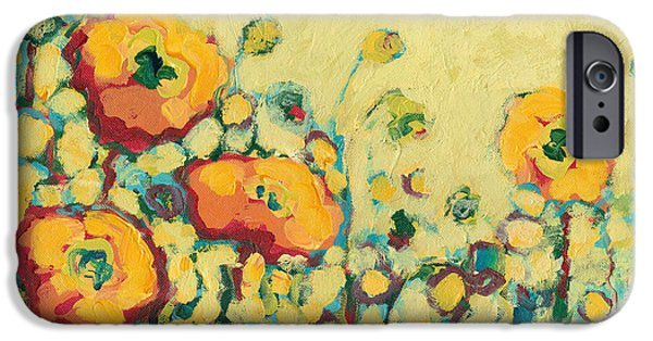 Impressionist iPhone Cases - Reminiscing on a Summer Day iPhone Case by Jennifer Lommers