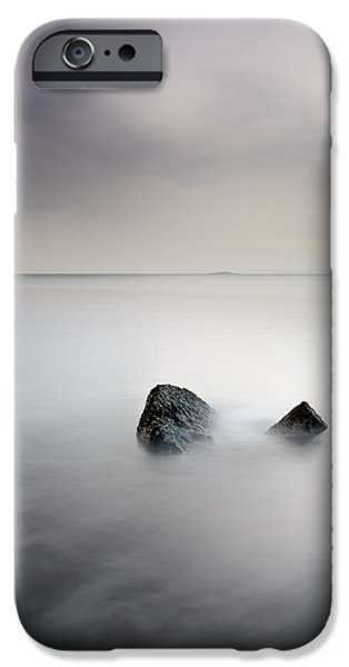 North Sea iPhone Cases - Remnant iPhone Case by Grant Glendinning