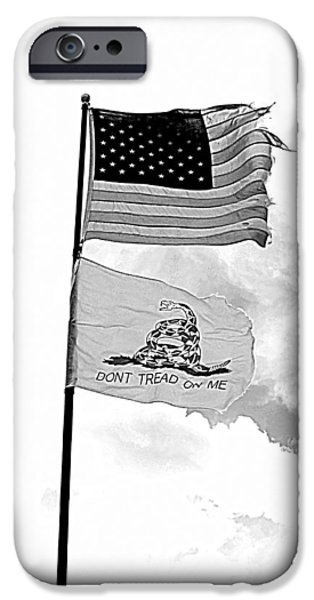 Constitution iPhone Cases - Remnants iPhone Case by Sonny Meyers