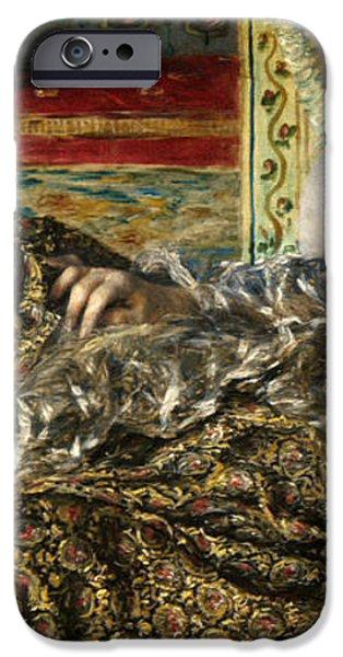 RENOIR: ODALISQUE, 1870 iPhone Case by Granger