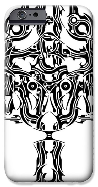 Religious Reliefs iPhone Cases - Requiem IV iPhone Case by David Umemoto