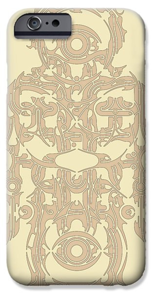 Religious Reliefs iPhone Cases - Requiem VII iPhone Case by David Umemoto