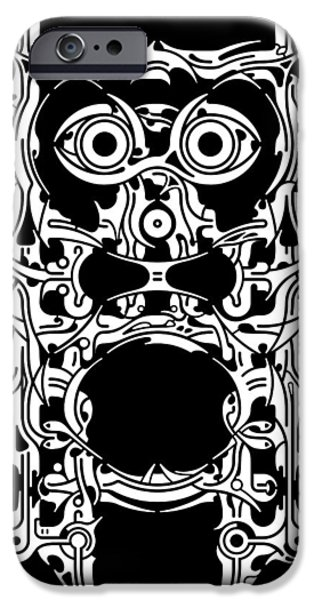 Religious Reliefs iPhone Cases - Requiem VIII iPhone Case by David Umemoto