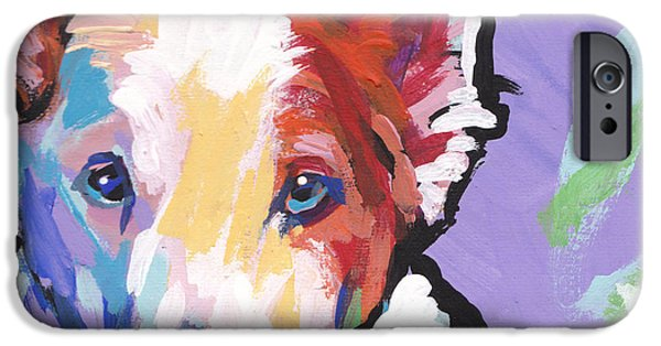 Fun Dog Art iPhone Cases - Rescue Me iPhone Case by Lea