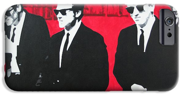 Reservoir Dogs iPhone Cases - Reservoir Dogs 2013 iPhone Case by Luis Ludzska