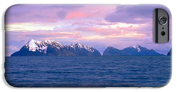 Frigid iPhone Cases - Resurrection Bay And Kenai Fjords iPhone Case by Panoramic Images