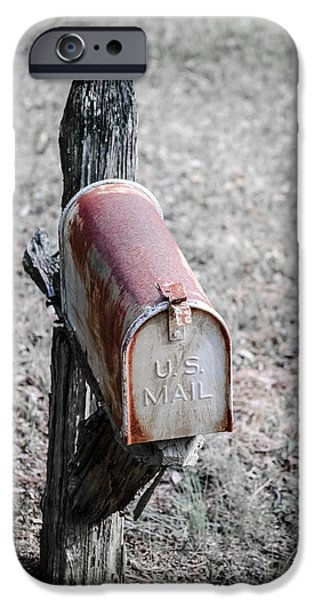 Rust iPhone Cases - Return to Sender iPhone Case by Lori Lanier