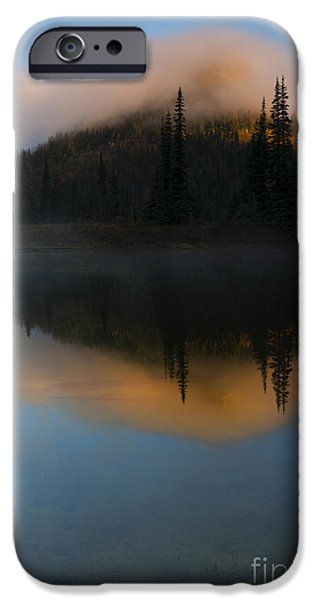 Mist iPhone Cases - Revealed by the Sun iPhone Case by Mike Dawson