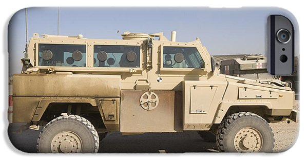 Iraq iPhone Cases - Rg-31 Nyala Armored Vehicle iPhone Case by Terry Moore