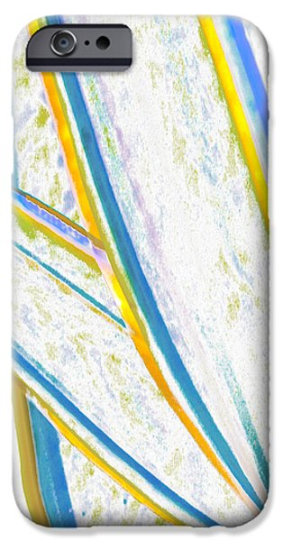Coastal Decor Digital iPhone Cases - Rhapsody In Leaves No 2 iPhone Case by Ben and Raisa Gertsberg
