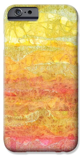 Rhapsody of Colors 30 iPhone Case by Elisabeth Witte - Printscapes