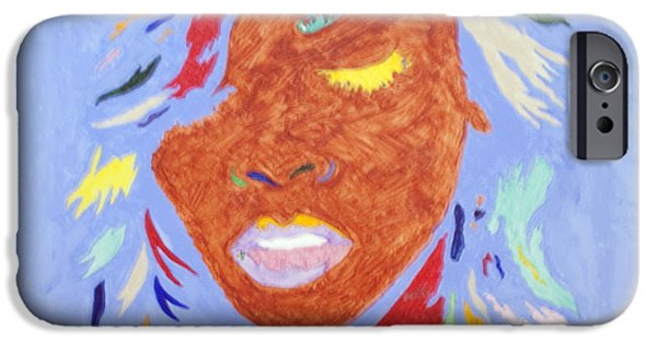 Jay Z Paintings iPhone Cases - Rihanna Loud iPhone Case by Stormm Bradshaw