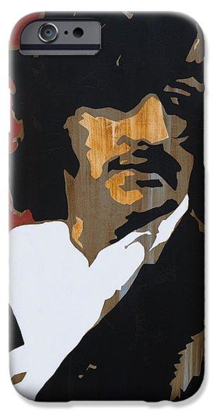 Beatles iPhone Cases - Ringo Starr iPhone Case by Brad Jensen
