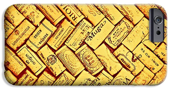 Wine Bottles iPhone Cases - Rioja Rueda Muga iPhone Case by Clare Bevan