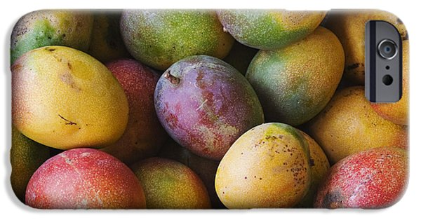 Hawaiian Food iPhone Cases - Ripe Mangos iPhone Case by Greg Vaughn - Printscapes