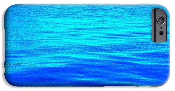 Hudson River Pastels iPhone Cases - Ripple iPhone Case by Dan Hilsenrath