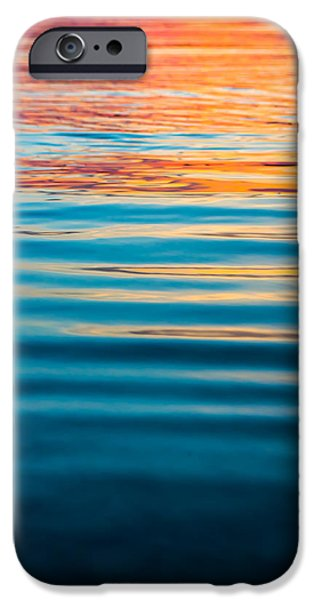 Young iPhone Cases - Ripples at Sunset iPhone Case by Shelby  Young