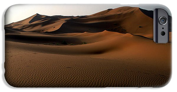 Northern Africa iPhone Cases - Ripples In The Sand iPhone Case by Ralph A  Ledergerber-Photography