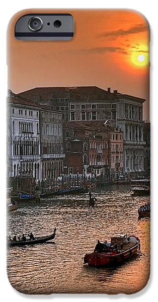 Riva del Ferro. Venezia iPhone Case by Juan Carlos Ferro Duque
