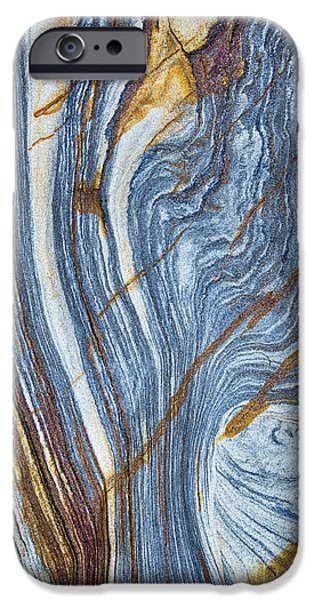 Stratum iPhone Cases - River of Rock  iPhone Case by Tim Gainey