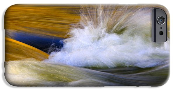 River Photographs iPhone Cases - River iPhone Case by Silke Magino