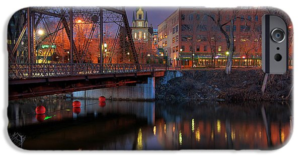 Little iPhone Cases - Riverplace Minneapolis Little Europe iPhone Case by Wayne Moran