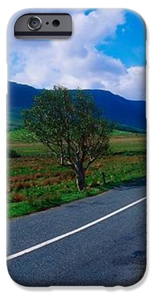 Road From Westport To Leenane, Co Mayo iPhone Case by The Irish Image Collection