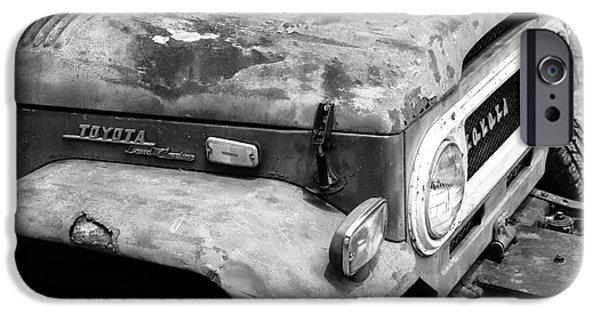 Old Cars iPhone Cases - Road Hard iPhone Case by Robert Yaeger