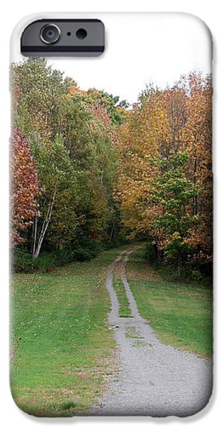 Road Less Traveled iPhone Case by George Jones