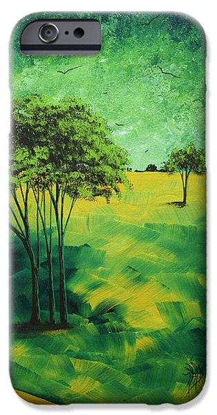 Road to Nowhere 1 by MADART iPhone Case by Megan Duncanson
