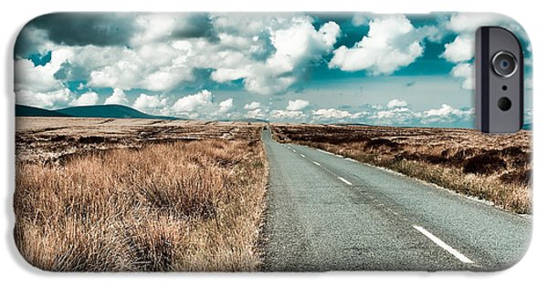 Thoroughfare iPhone Cases - Road to nowhere iPhone Case by Gabriela Insuratelu