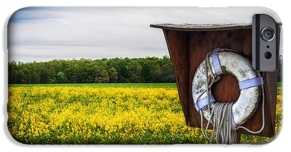 Farm Stand iPhone Cases - Roadside Assistance iPhone Case by Tom Mc Nemar