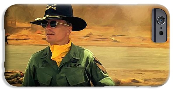 Francis Ford Coppola iPhone Cases - Robert Duvall @ Apocalypse Now iPhone Case by Gabriel T Toro