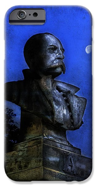 Police Art iPhone Cases - Robert H. Anderson Monument iPhone Case by Jamie Anderson